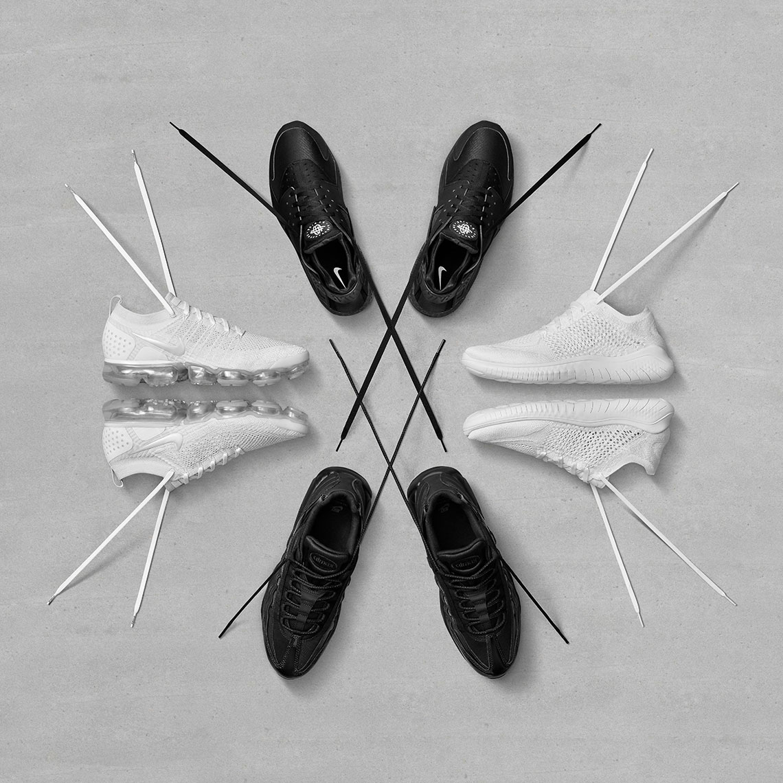 Nike | Black+White Sneakers